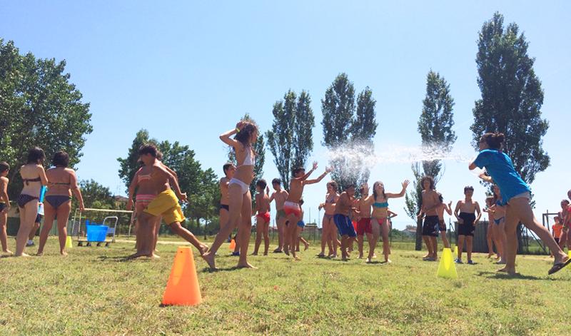 Camp estivo ravenna giocando allo sport